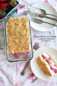 Strawberry Graham Cracker Dessert