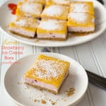 homemadestrawberrylemonicecreambars