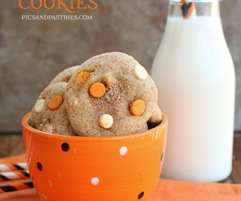PUMPKINSPICE AND WHITE CHOCOLATE Cookies