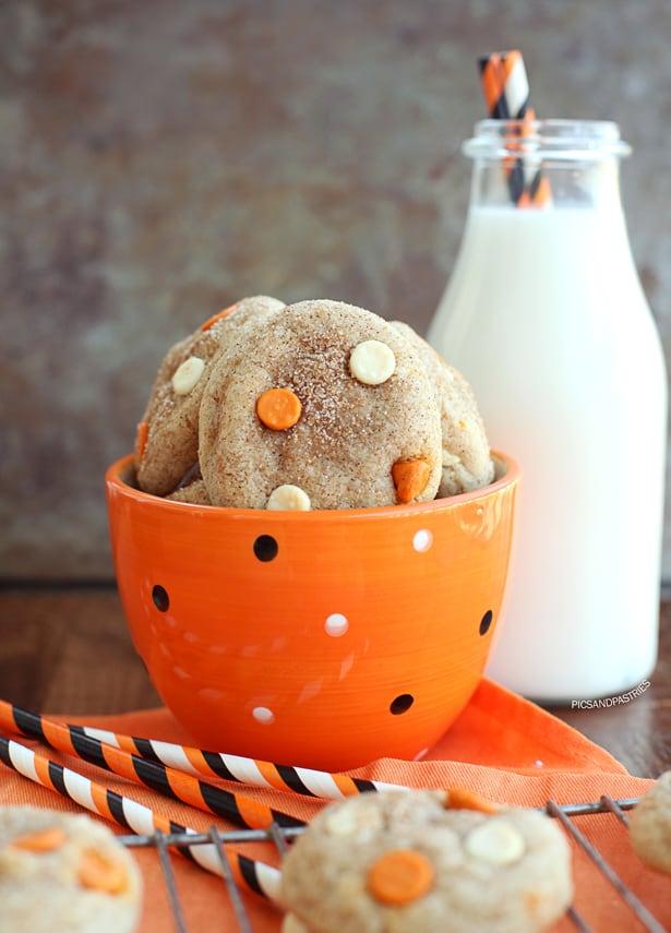 pumpkinsnickerdoodlecookies