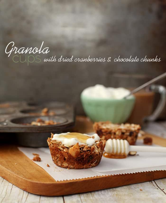 granola cups