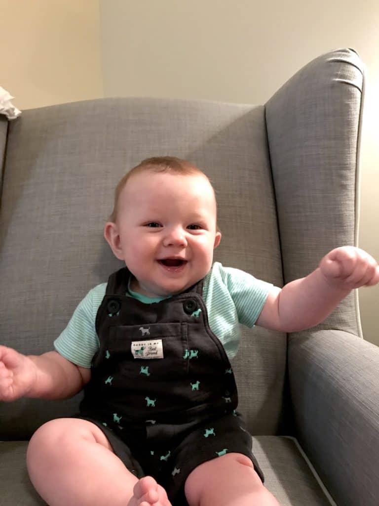 Grayson 8 months