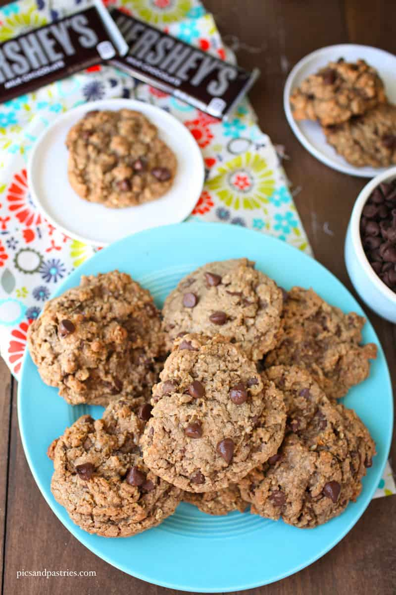 Chopped pecans make these chocolate chip cookies even better