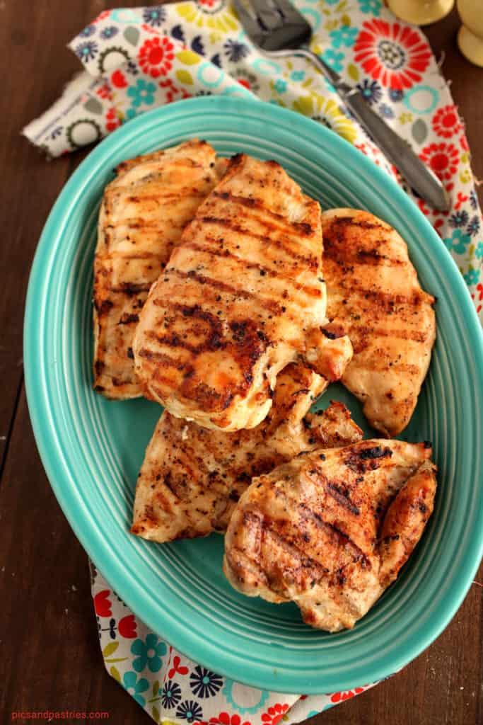 boneless grilled chicken breast