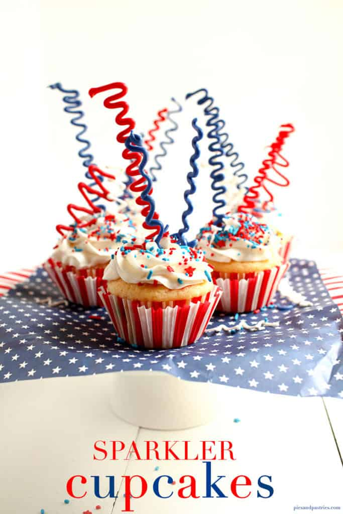 Cupcakes for the 4th of July
