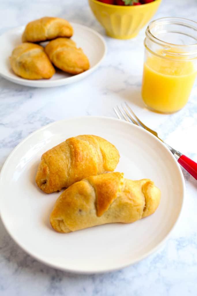 delicious sausage breakfast rolls